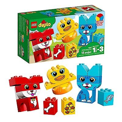 LEGO樂高  得寶系列 10858 我的第一套拼圖寵物