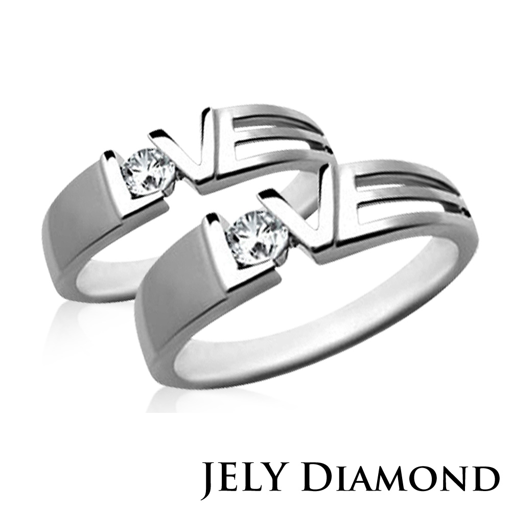 JELY HEART BEAT天然真鑽對戒 product image 1