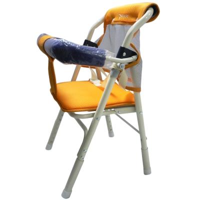 優生居家機車雙用椅(橘/藍)
