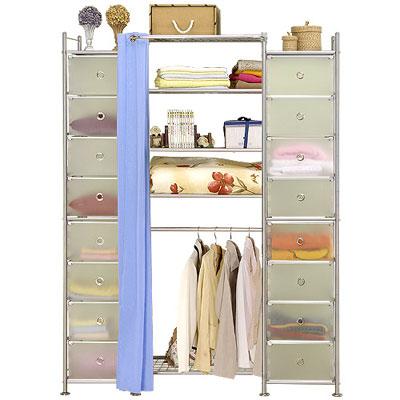 巴塞隆納─W5+2D型60公分衣櫥置物櫃