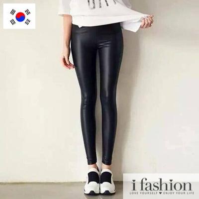 褲子-韓國let-s-diet魔力皮褲-iFash