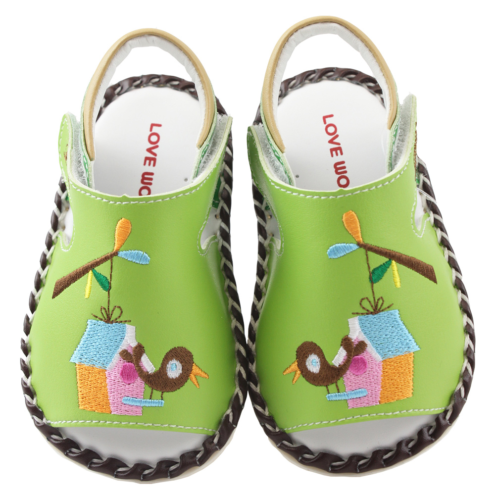 愛的世界 鳥屋寶寶鞋/學步鞋 -台灣製-