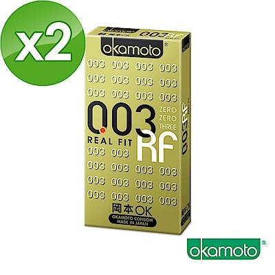 岡本okamoto 003 RF極薄貼身 6片裝 2入組