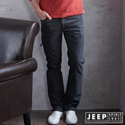 JEEP 時尚設計工作褲 -鐵灰