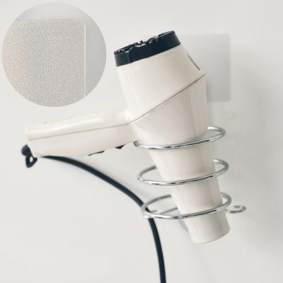 完美主義 304不鏽鋼吹風機架/霧面無痕貼-10x12x17cm