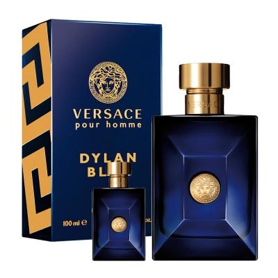 Versace Pour Homme 狄倫正藍男性淡香水30ml+隨機男小香