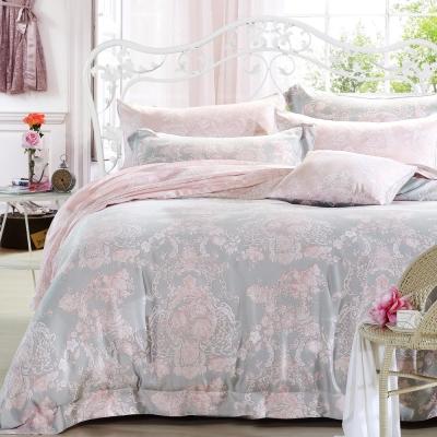 Ania Casa 浪漫狄安娜 涼感天絲 採3M吸溼排汗專利 單人鋪棉兩用被床包組