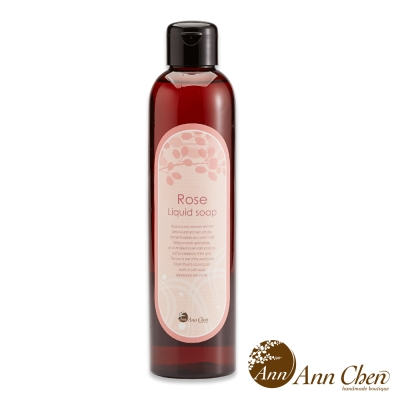 陳怡安手工皂-玫瑰精油沐浴露 250ml
