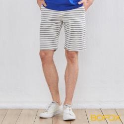 BOFOX 海軍風休閒短褲-米白