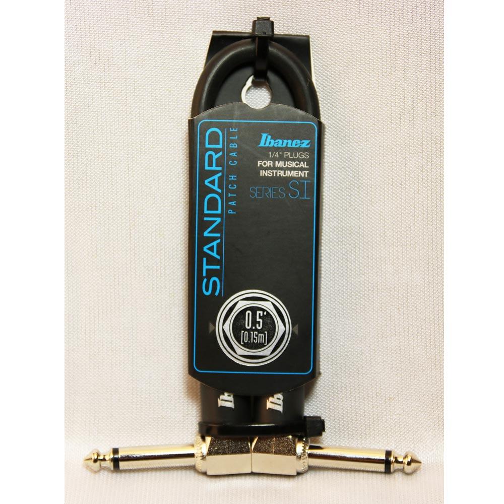 IBANEZ SI05P 專業級樂器短導線 15公分款 (兩入)