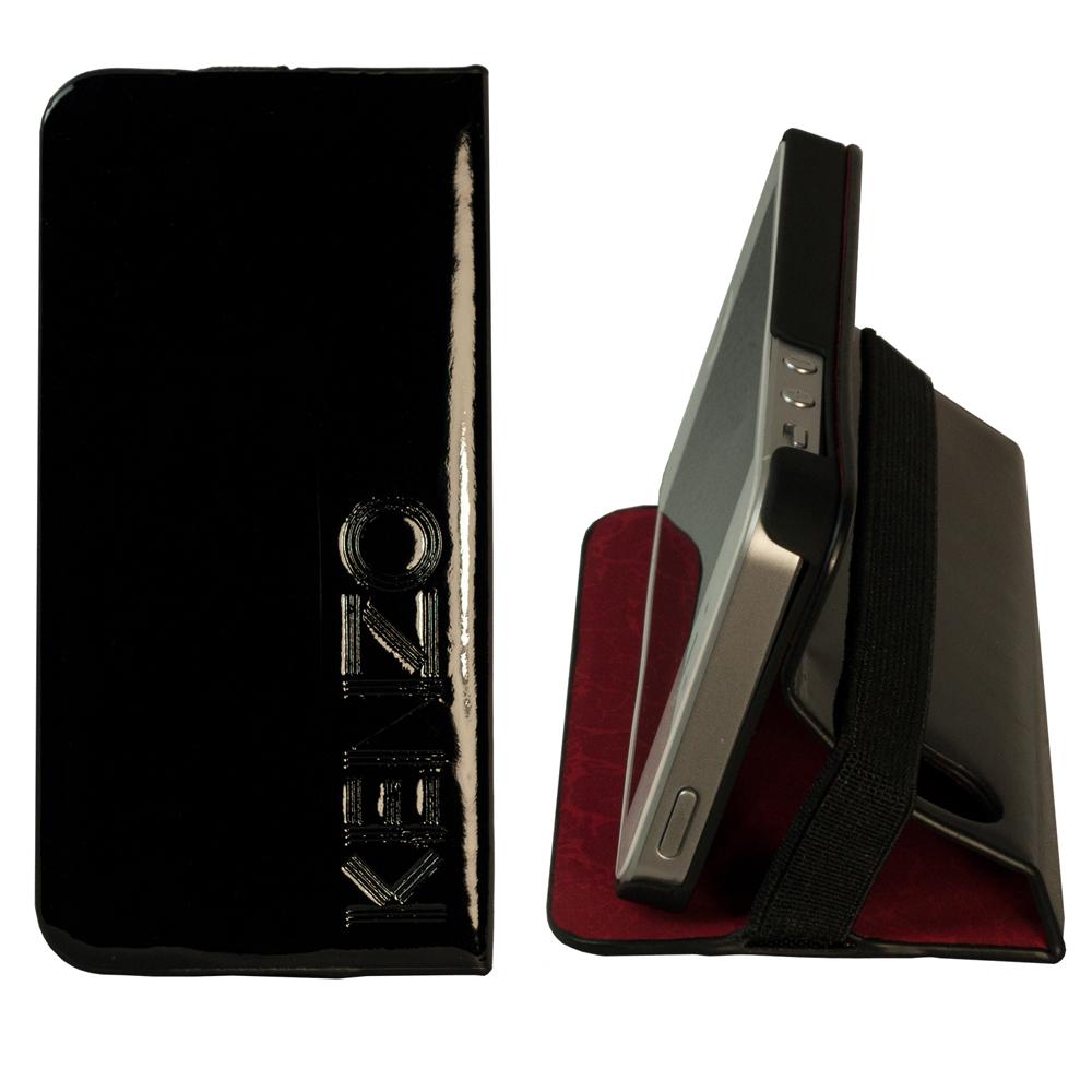 KENZO Smartcase 系列 iPhone5/5S/SE 皮革保護套