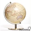 SkyGlobe 10吋仿古金屬手臂地球儀(中英文版)