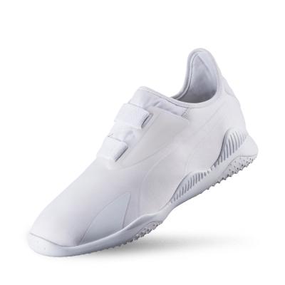 PUMA Mostro男女復古武術運動鞋-白色