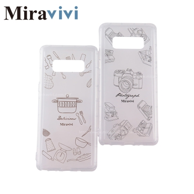 Miravivi原創時尚三星Galaxy Note8生活態度系列