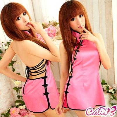 【Caelia】迷人嬌戀!二件式旗袍裝
