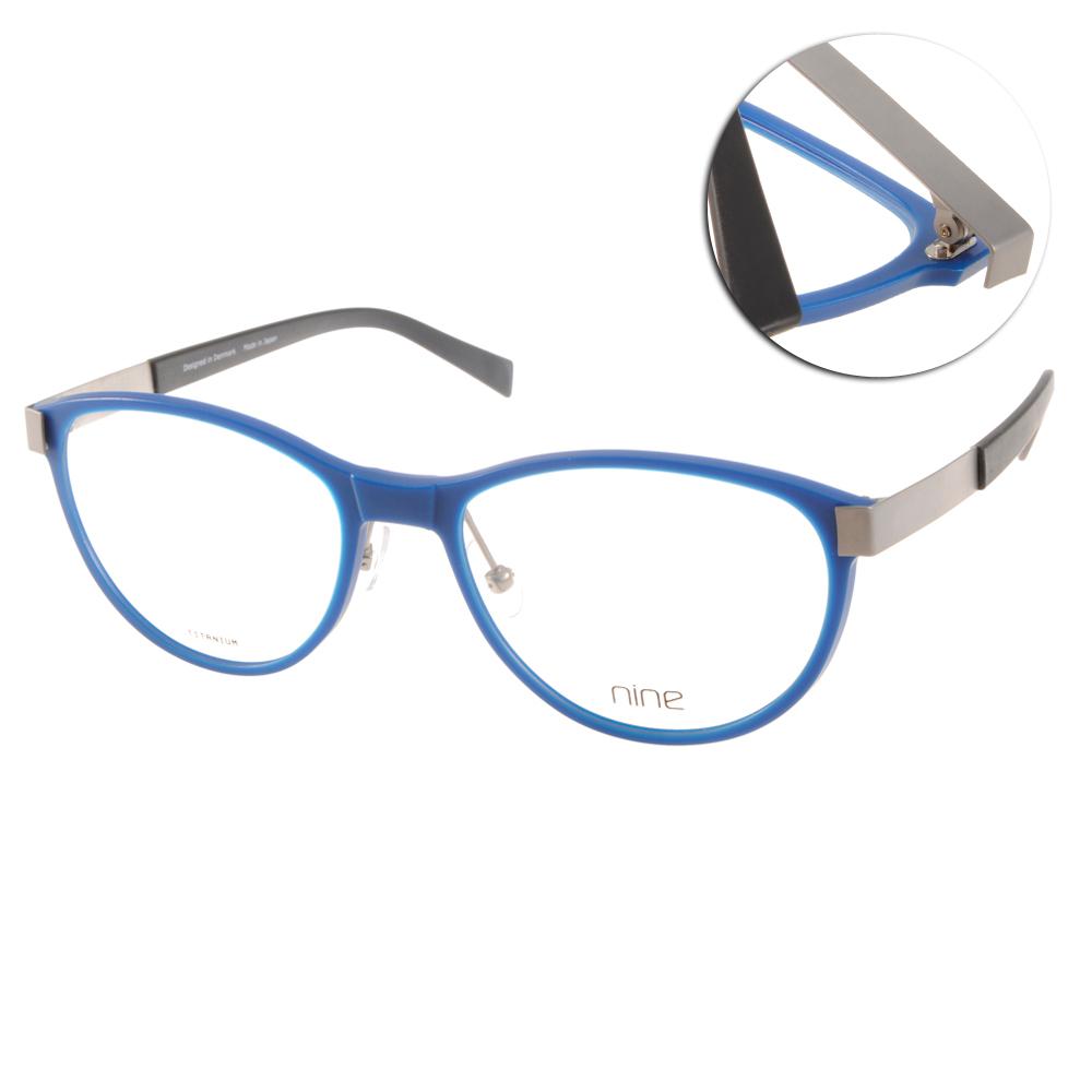NINE眼鏡 3rd系列/藍-黑#NE2413 BLU @ Y!購物