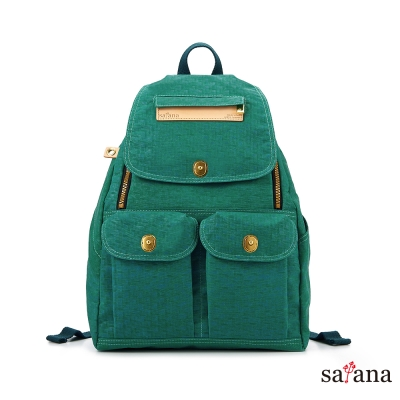 satana - 小拉鍊後背包 - 常春藤