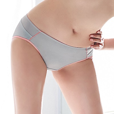 蕾黛絲-動氧Bra低腰內褲 M-EL(舒活灰)