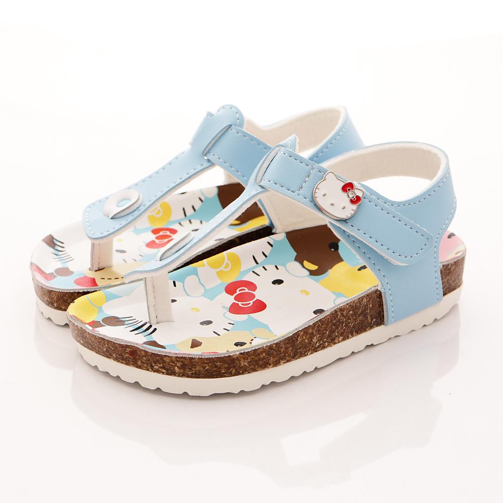 HelloKitty童鞋 卡通涼鞋款 17942 水藍 (中小童段)T1