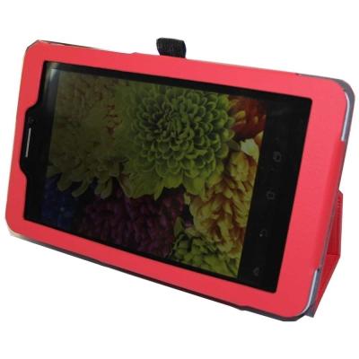 ASUS FonePad 7 ME175 背夾旋轉款皮套+螢幕貼 組合
