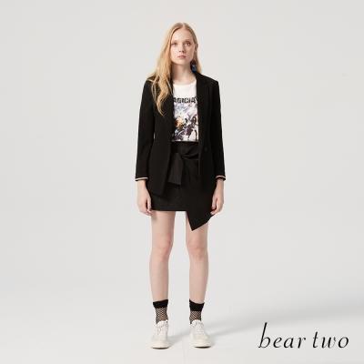 beartwo 重金屬搖滾造型短袖上衣(三色)