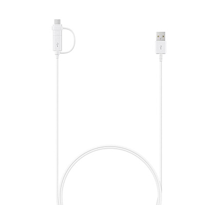 Samsung 充電傳輸線2合1 兩用線
