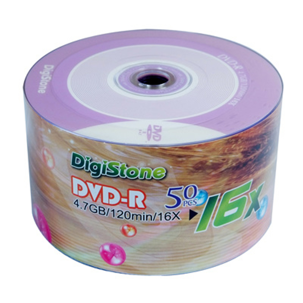 DigiStone 風車版-紫  16X DVD-R 4.7GB  燒錄片 (200片)