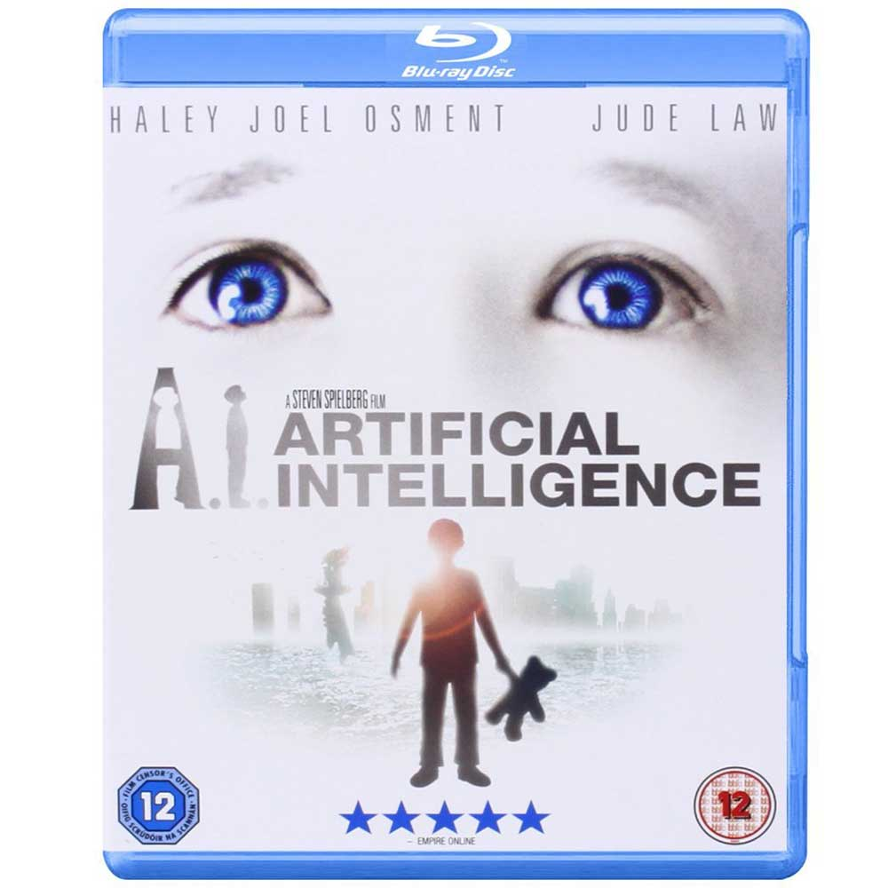AI 人工智慧 Artificial Intelligence  藍光 BD