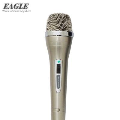 EAGLE 進階款動圈式有線麥克風 EDM-622 金屬色