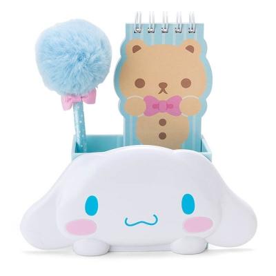 Sanrio 大耳狗喜拿好朋友便條本與趴趴造型筆筒組