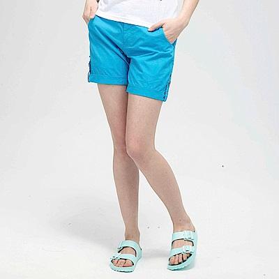 【TOP GIRL】休閒時尚短褲-北卡藍