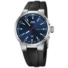 Oris豪利時 Willimas F1賽車系列日曆星期機械錶-藍x黑/42mm