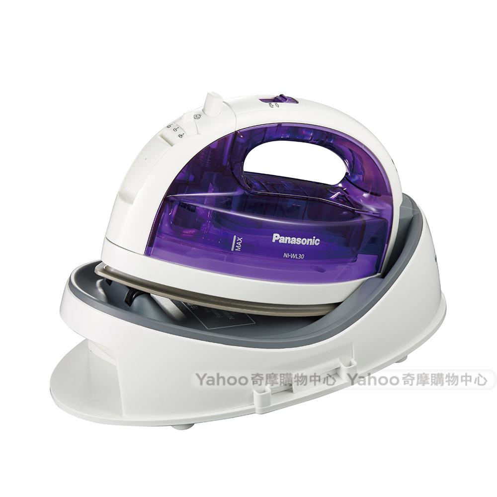 Panasonic國際牌 無線蒸氣電熨斗NI-WL30