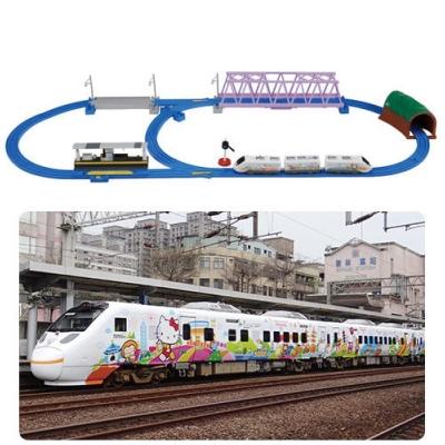 PLARAIL 鐵道王國 新太魯閣Hello Kitty號超級組_ TP87761 TAK