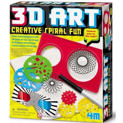4M美勞創作 3D立體創意畫冊