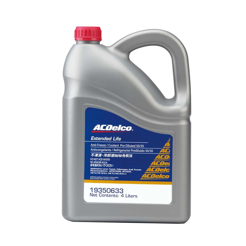 ACDelco水箱精50% 粉紅色 4L