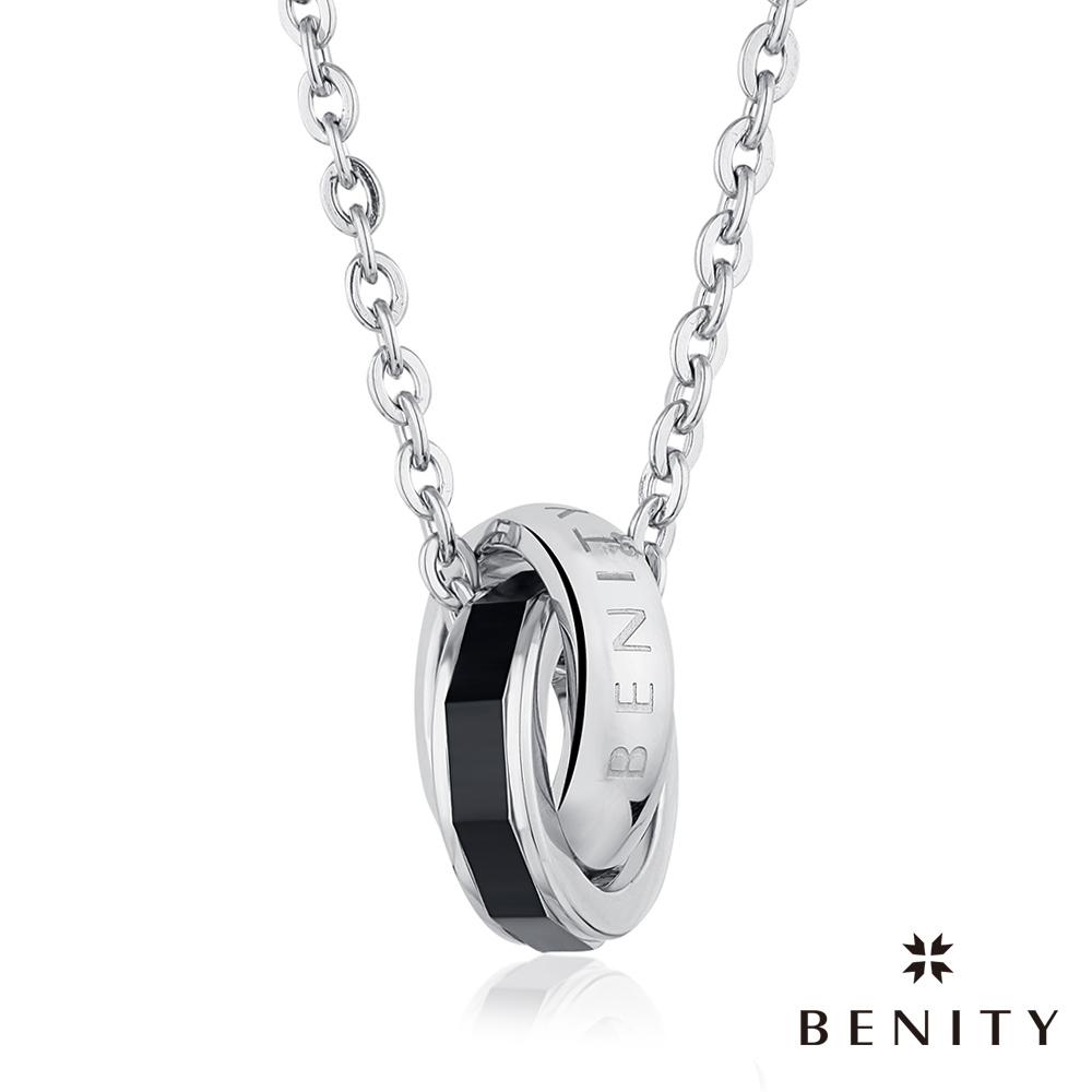 BENITY 法頌日記 IP黑鈦 316L醫療級白鋼/西德鋼 情侶對鍊款 男項鍊