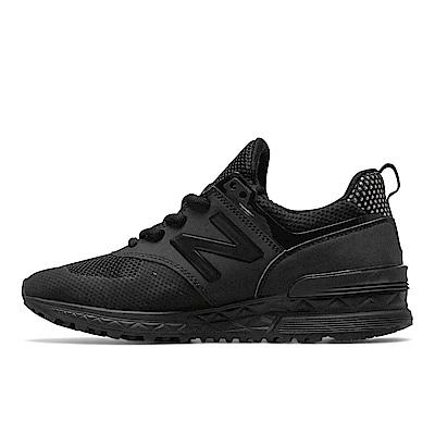 New Balance 574復古鞋WS574BKG女性黑色