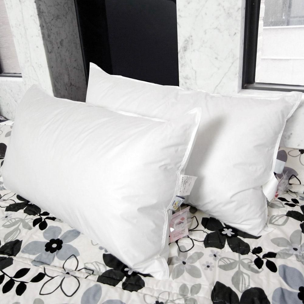 凱蕾絲帝-專櫃級100%純天然超澎柔羽絨枕(2入)
