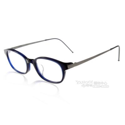 JULIO眼鏡 完美工藝/深藍色#ROME TBL
