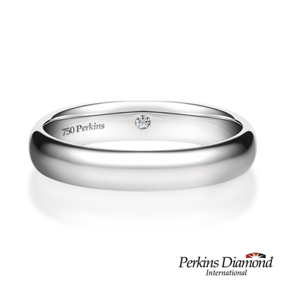 PERKINS 伯金仕 -  Classic系列 18K白金 鑽石戒指