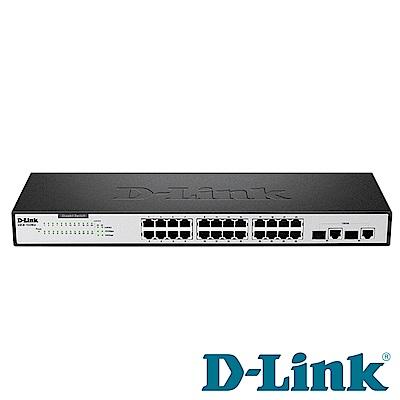 D-Link EEE 節能型乙太網路交換器 DES-1026G