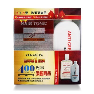 日本柳屋雅娜蒂 髮根精華液(旗艦增強版)240ml+毛穴淨化洗髮精170ml