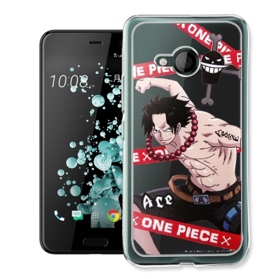 航海王 HTC U Play 5.2吋 透明軟式手機殼(封鎖艾斯)