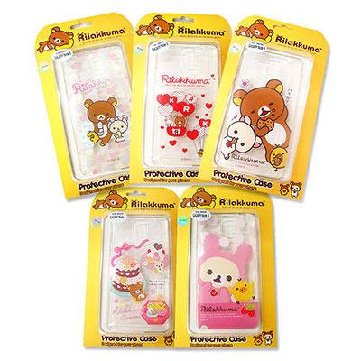 懶懶熊 拉拉熊 SAMSUNG Galaxy NOTE3  透明保護手機殼