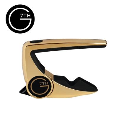 G7TH PII-6-GD Capo-Performance II 6弦專用 移調夾 K金