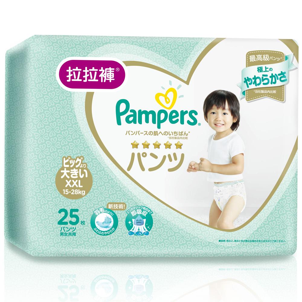 幫寶適 一級幫 拉拉褲/褲型尿布 (XXL) 25片x4包_日本原裝/箱