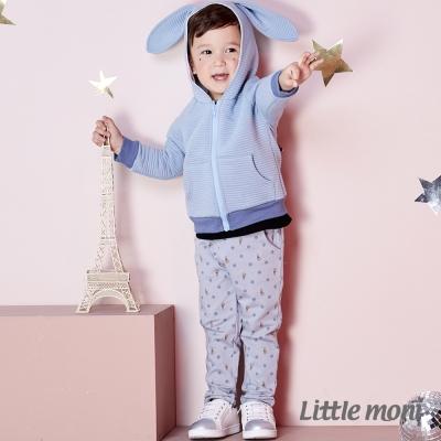 Little moni 小兔印圖長褲 (共2色)