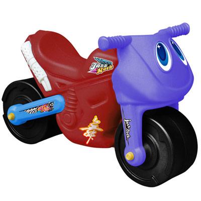 寶貝樂 小爵士摩托車造型學步助步車(紅)