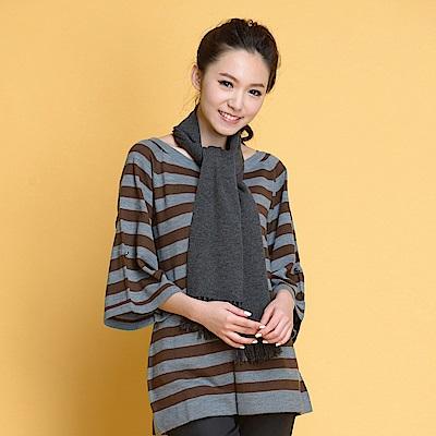 【TOPGIRL】長版針織衫-灰色